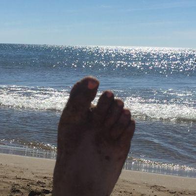La mer, le sable, les vacances ...