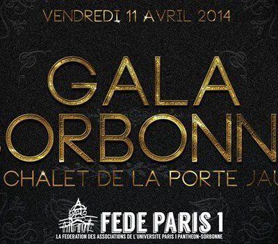 Gala de la Sorbonne 2014
