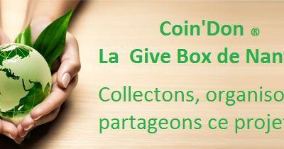 Nouveau projet BAILAZEN: Créer un Projet-Coin'Don à Nanterre