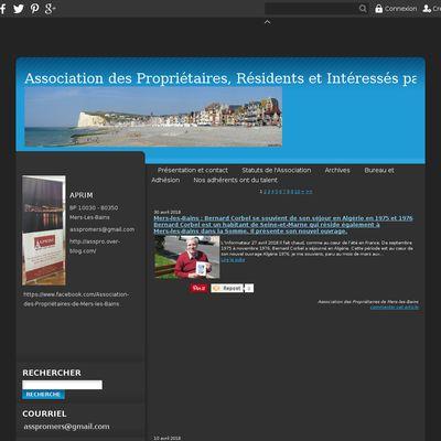 Blog de l'Association des Propriétaires de Mers-les-Bains