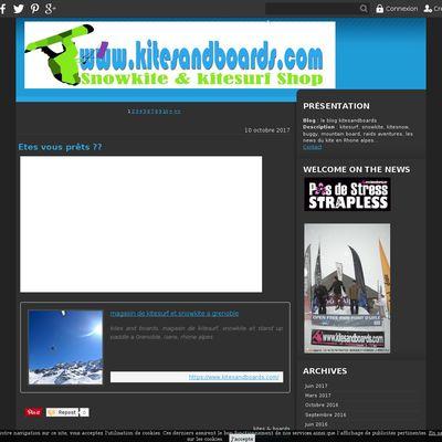 le blog kitesandboards