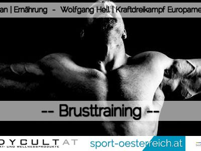 Brusttraining Strongman Wolfgang Hell
