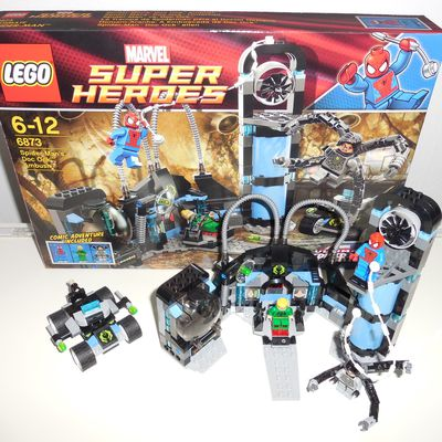 [Lego] Marvel Super Heroes 6873 Spider-Man's Doc Ock Ambush