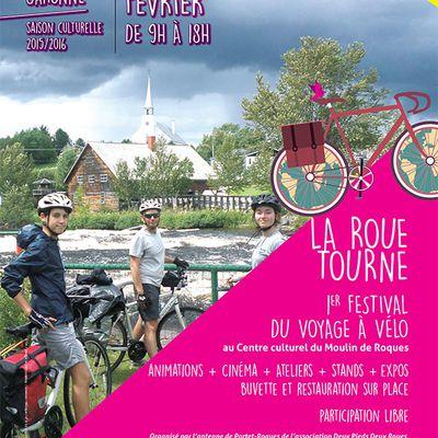 La Roue Tourne... premier festival du voyage à vélo au Moulin de Roques