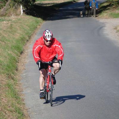 Gérard, Cyclotouriste dans le Val d'Oise
