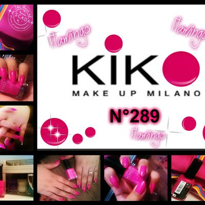 Kiko Nails -Flamingo-