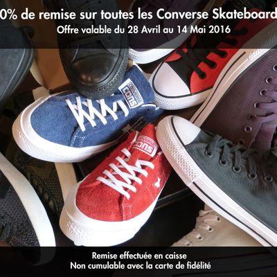 Opération Converse Skateboarding