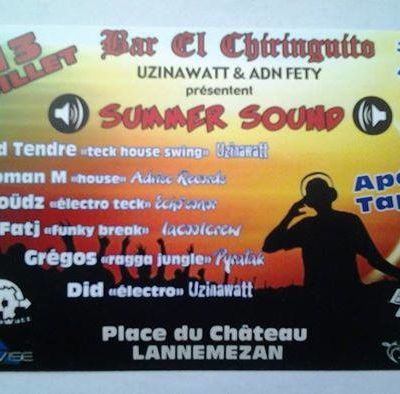 SUMMER SOUND by ADN FETY 13 Juillet