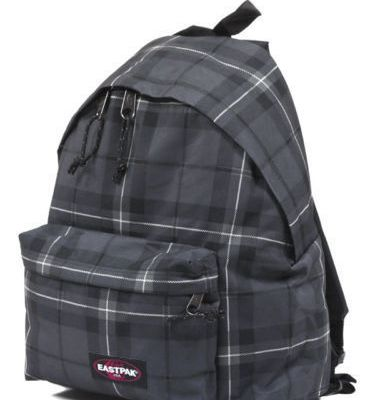 Zaino Eastpak Checked Black Autentico Padded Pak'r Scuola Borsa