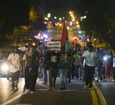 Death of black teenager Michael Brown in Ferguson, Missouri