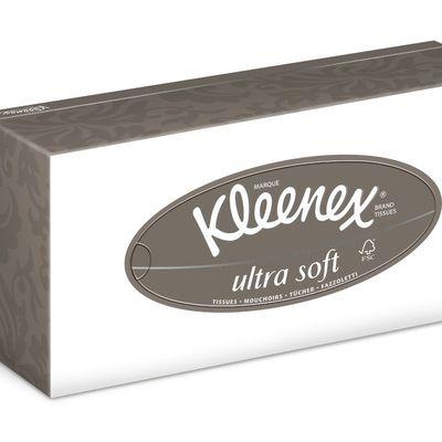 J'ai testé les mouchoirs Kleenex - Ultrasoft