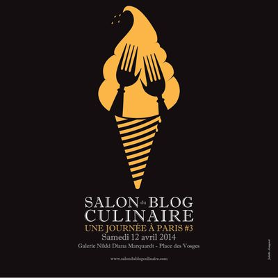 Salon du blog culinaire, Paris 2014