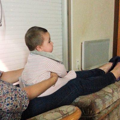 La télé c'est cool ! Mais maman c'est mieux :-D
