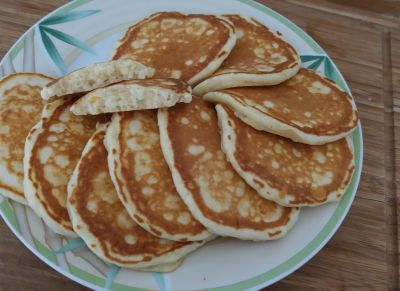 Les pancakes de Martha Stewart...
