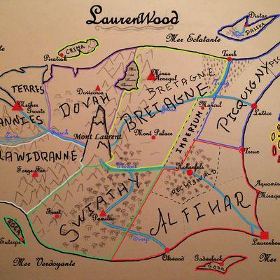 Les Principaux Territoires de Laurenwood
