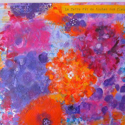 Art journal : Les fleurs sont indispensables à la vie