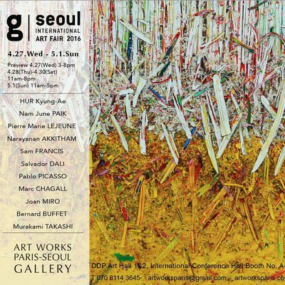 G-Seoul art fair 2016 in Seoul, South KOREA