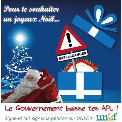 Le cadeau de Noël du gouvernement ? <br> La baisse des APL !
