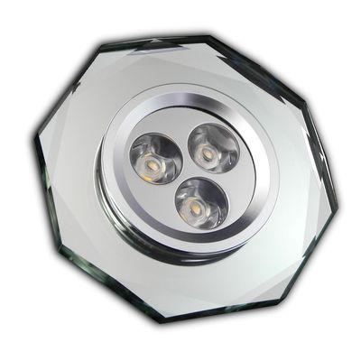 LED Einbaustrahler Kristall sehr flach