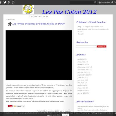 Le blog de lespascoton2012