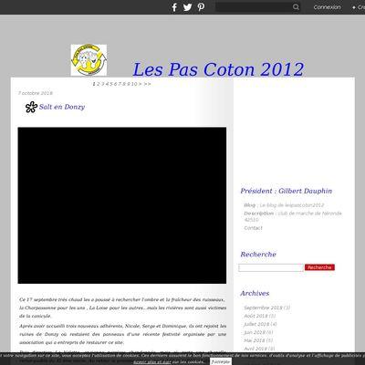 Le blog de lespascoton2012