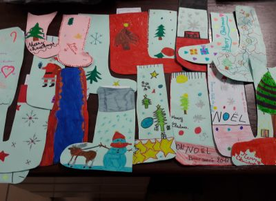 Stockings made by the 6bs