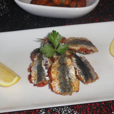 Filets de Sardines farcis à la chermoula (Serdines b'derssas /Plat Algérien)