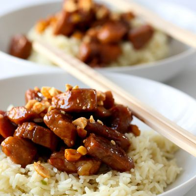 Porc au caramel ( Asie )