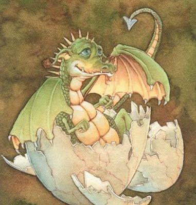 Rayon de soleil et Dragon du Jardinoux !