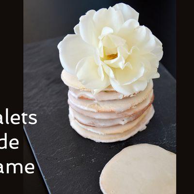 Palets de dame, pâtisserie du Nord {sans beurre}