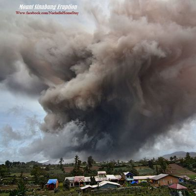 Sinabung and Nevado del Ruiz volcanic activity.