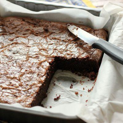 Brownie au choc' selon Lenôtre