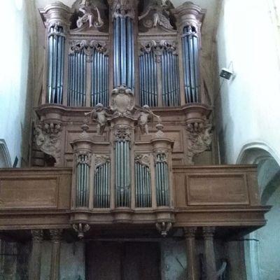 Récital à l'orgue historique de MITRY-MORY (77)