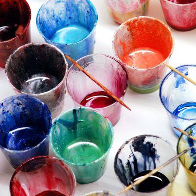 Giessharz einfärben mit Farbe von Cleopatre