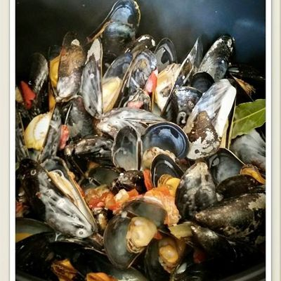 Moules au Cookeo