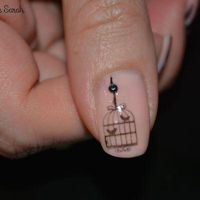 Nail Art - Oiseaux