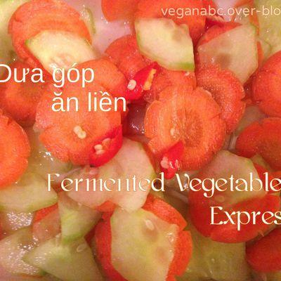 Dưa góp ăn liền - Fermented Vegetables Express