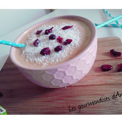 Smoothie abricot/coco