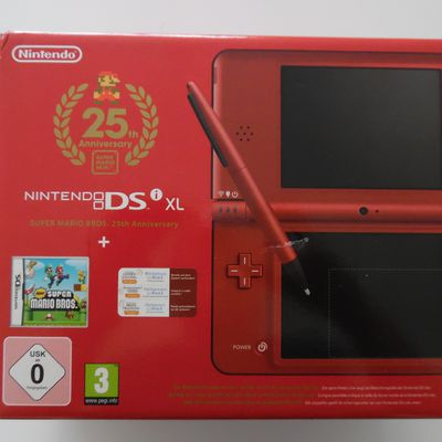NINTENDO DSI XL SUPER MARIO BROS 25th ANNIVERSARY