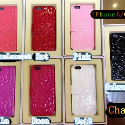 Chanel, LV, Gucci Bling-Bling Ledertasche für iPhone 6/6 Plus