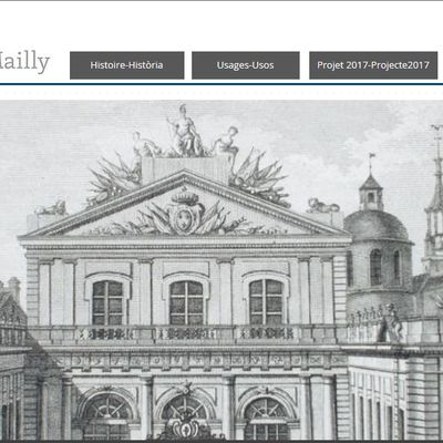 "Site web ""U.P.V.D. Campus Mailly"""