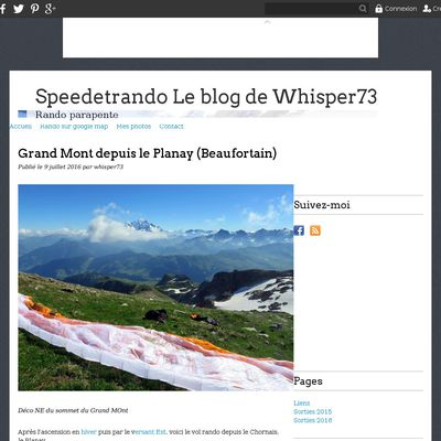 Speedetrando Le blog de Whisper73