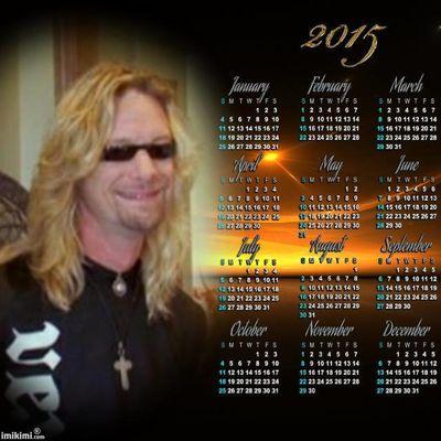 calendrier 2015 de  ricky
