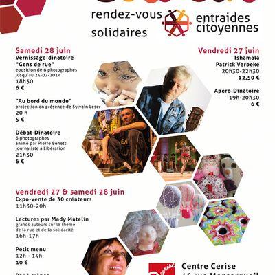 Solli'Cité - 27 et 28 juin 2014