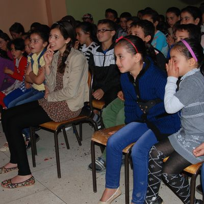جمعية نوميديا للثقافة والبيئة  تخلد اليوم الوطني للمسرح المدرسي