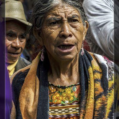 Guatemala: le marché de Chichicastenango.