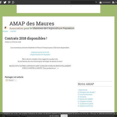AMAP des Maures