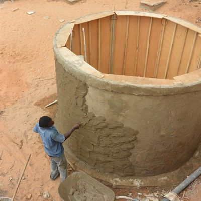 Collecter l'eau de pluie/Collecting rain water
