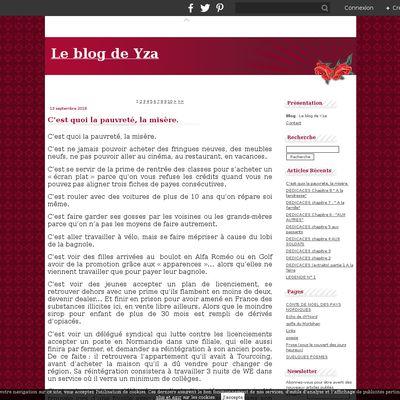 Le blog de Yza