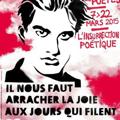 Printemps des poètes 2015 : Liberté / Fraternité